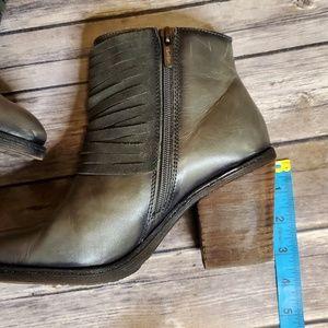 PIKOLINOS Shoes - Pikolinos Alicante Lead Grey Heeled Ankle Boot 37
